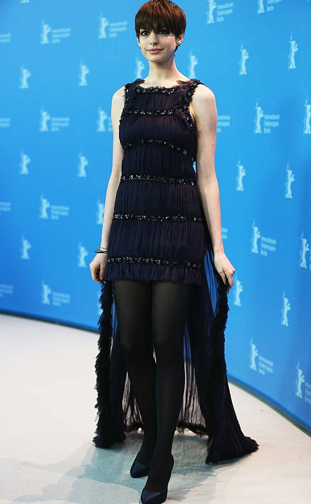 Anne Hathaway Chanel
