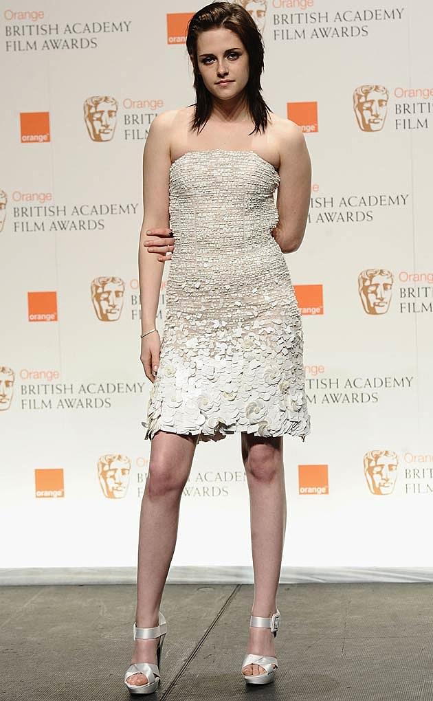 Kristen Stewart White Chanel