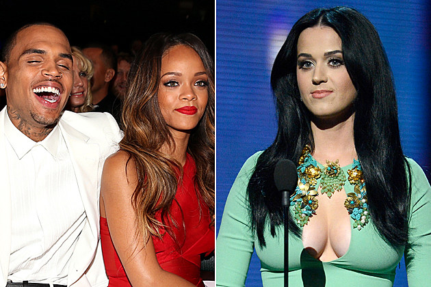 Chris Brown Rihanna Katy Perry