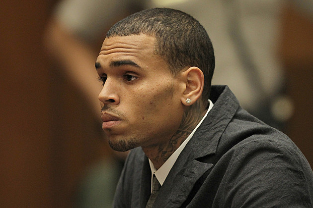 Chris Brown Car Accident