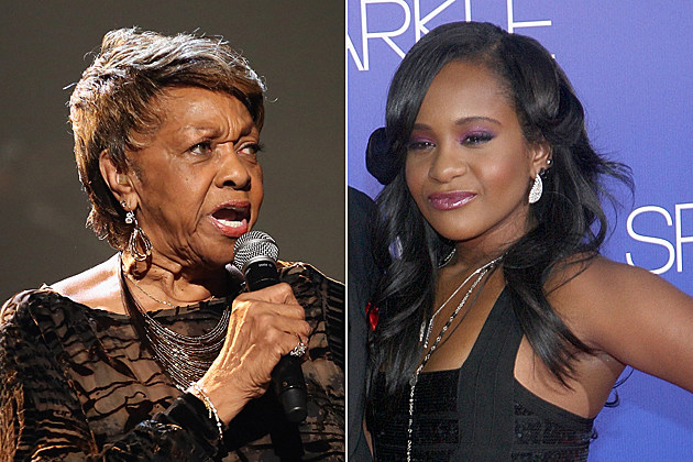 Cissy Houston Bobbi Kristina Brown