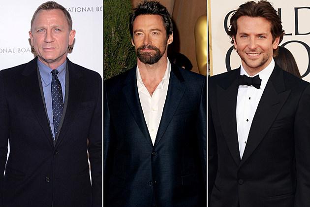 Daniel Craig Hugh Jackman Bradley Cooper