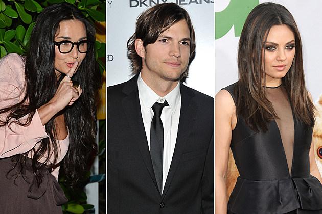 Demi Moore Ashton Kutcher Mila Kunis