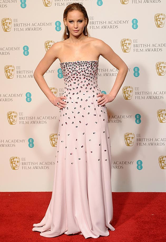 Jennifer Lawrence BAFTA Dior