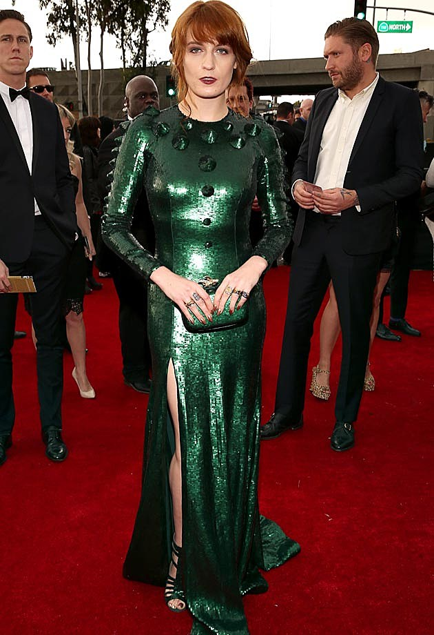 Florence Welch 2013 Grammys