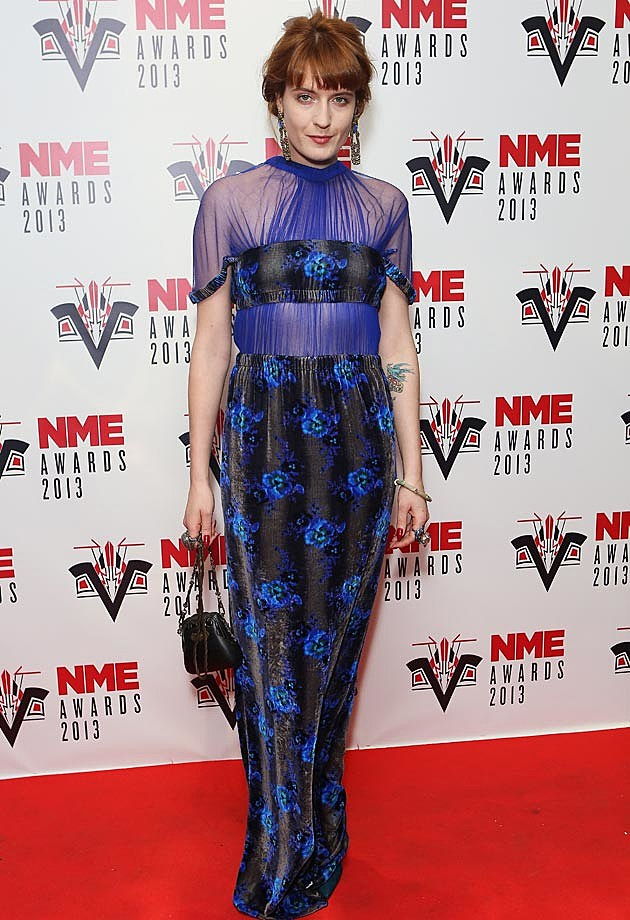 Florence Welch NME 2013 Christopher Kane