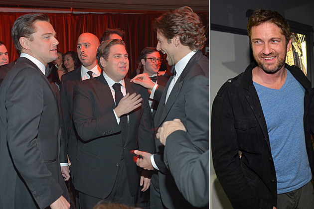 Jonah Hill Leonardo DiCaprio Bradley Cooper Gerard Butler