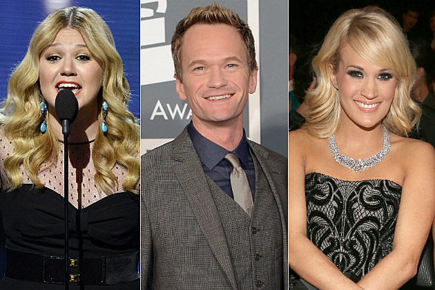 Stars like Kelly Clarkson, Neil Patrick Harris and Carrie Underwood had as much fun as we would tweeting from the Grammys.