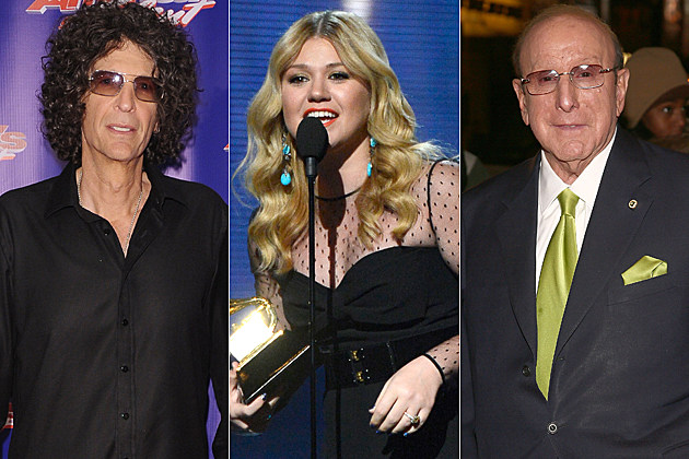 Howard Stern Kelly Clarkson Clive Davis