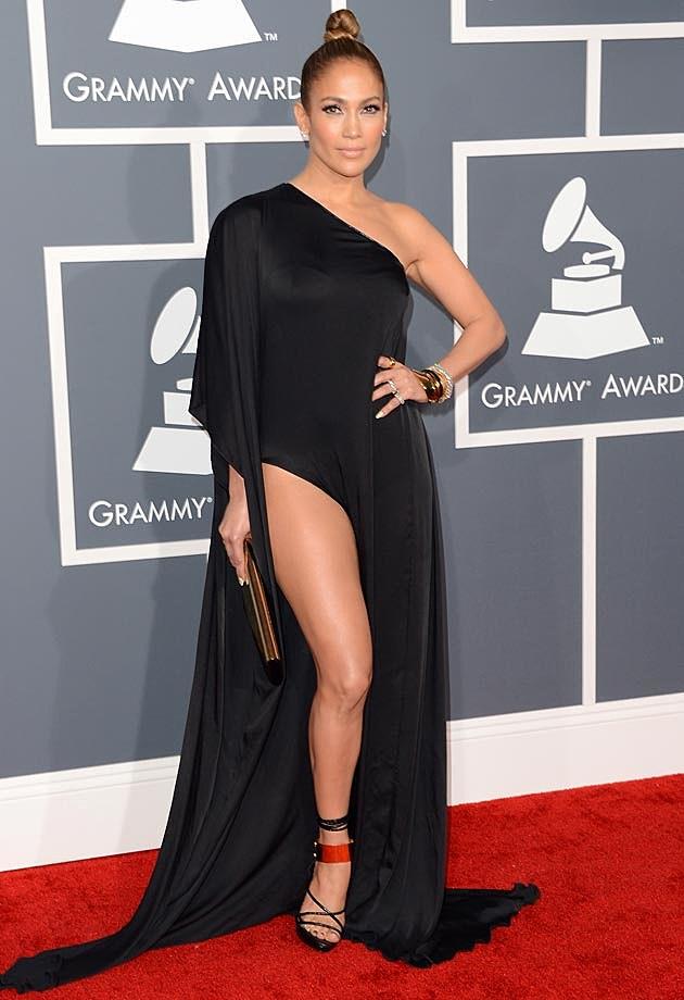 Jennifer Lopez 2013 Grammys