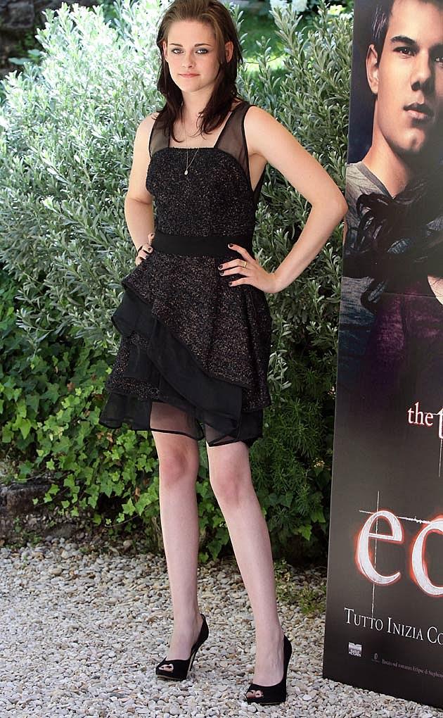 Kristen Stewart Black J Mendel Twilight