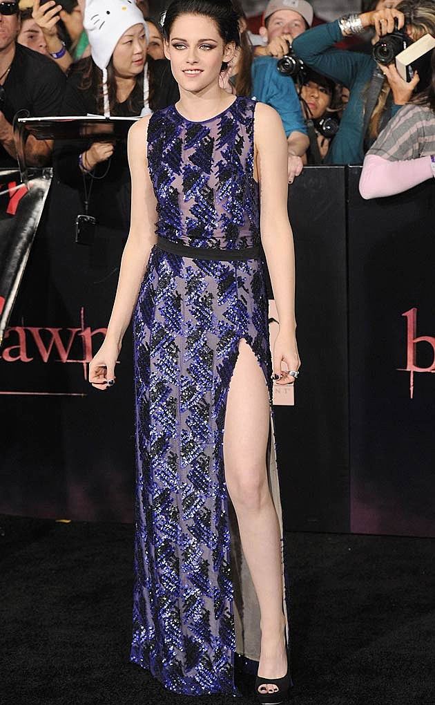 Kristen Stewart J Mendel Twilight Purple