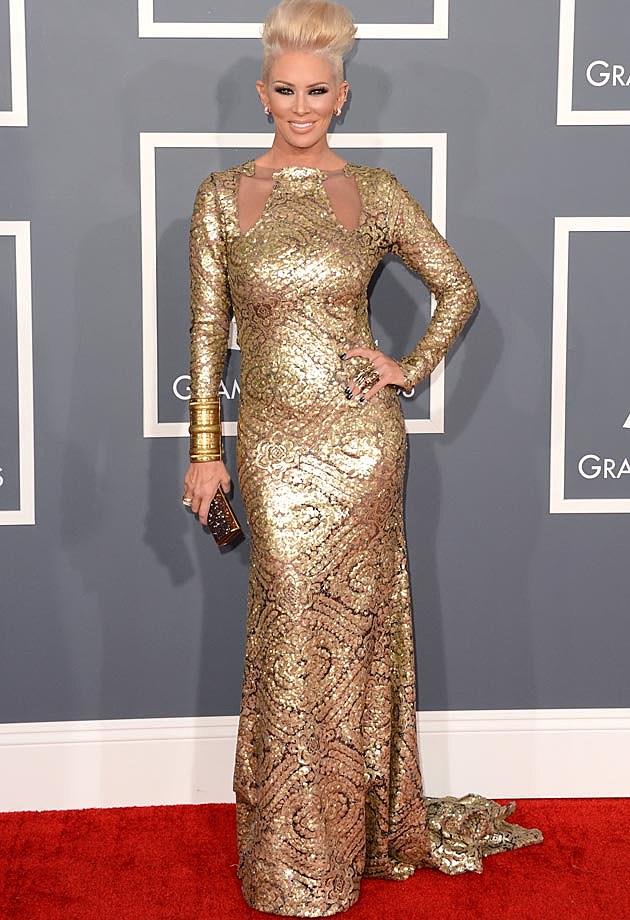 Jenna Jameson 2013 Grammys