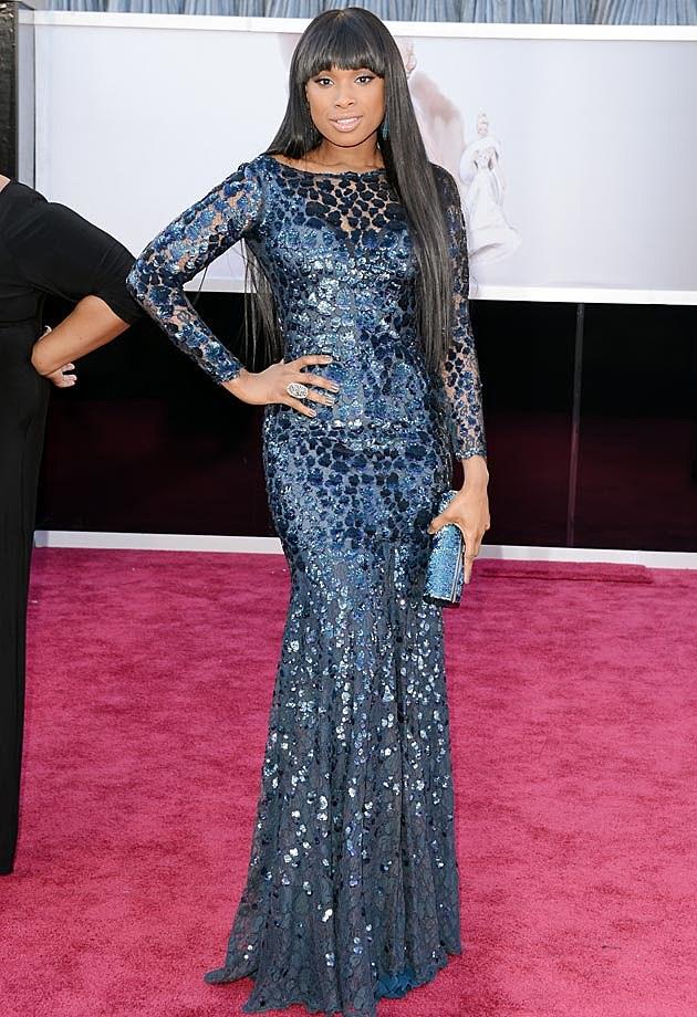 Jennifer Hudson Roberto Cavalli 2013 Oscars