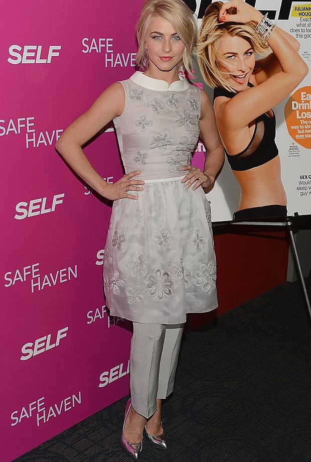 Julianne Hough Georges Hobieka Safe Haven Premiere