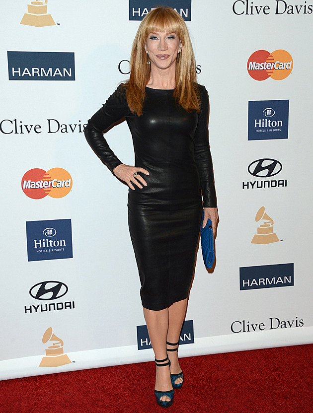 Kathy Griffin at the Clive Davis Pre-GRAMMY Party