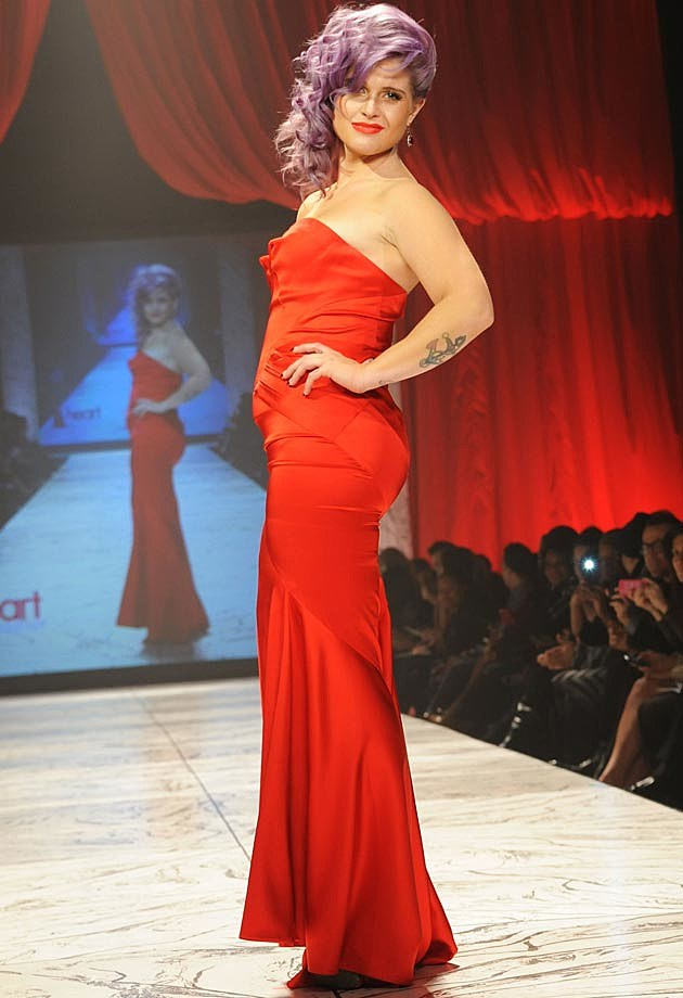 Kelly Osbourne Heart Truth Fashion Show