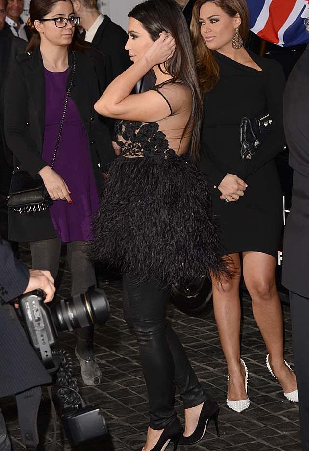 Kim Kardashian Topshop Topman Opening L.A.