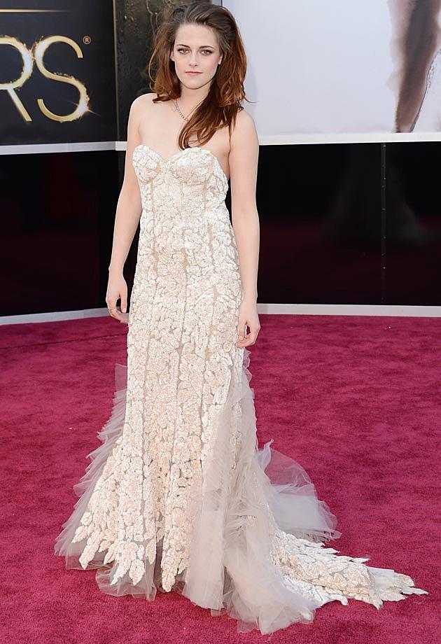 Kristen Stewart 2013 Oscars Reem Acra