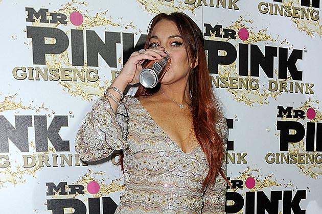 Lindsay Lohan Mr. Pink