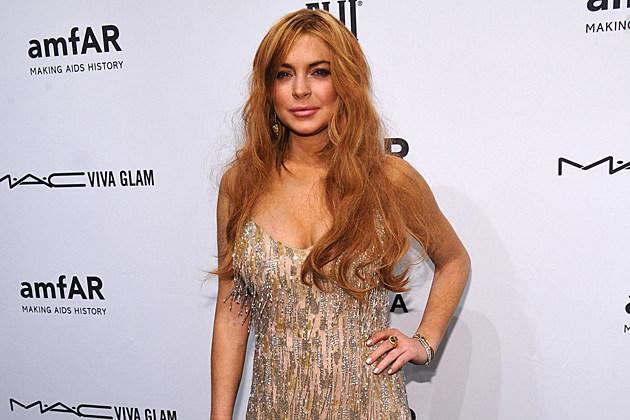 Lindsay Lohan amfAR