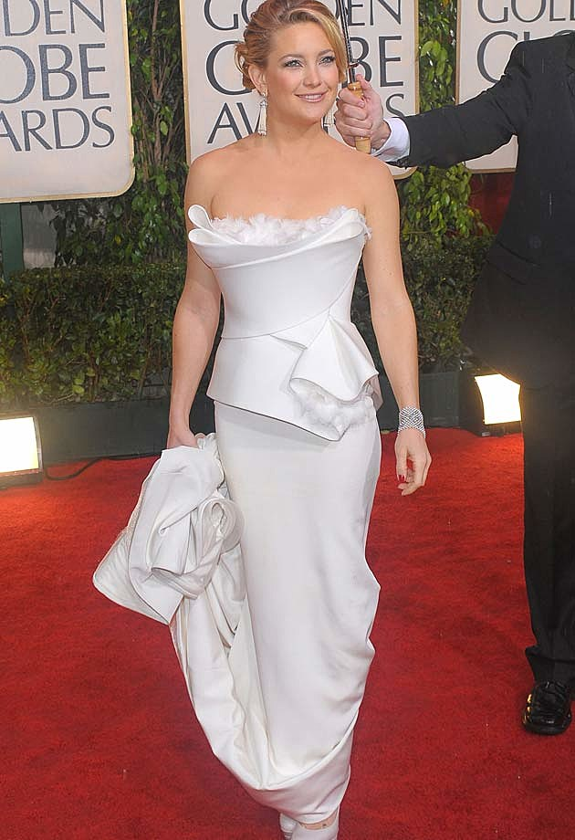Kate Hudson White Marchesa