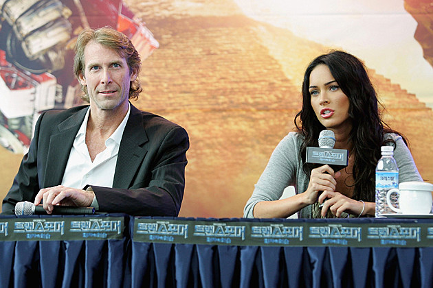 Michael Bay Megan Fox