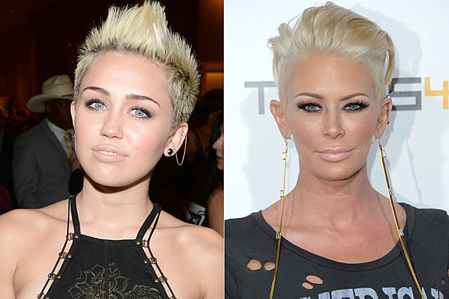 Miley Cyrus Jenna Jameson