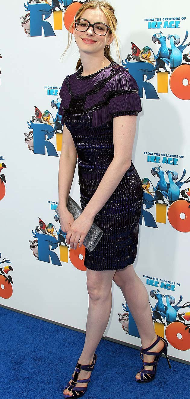 Anne Hathaway Nerdy