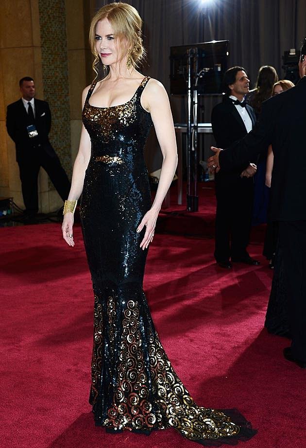Nicole Kidman Balenciaga 2013 Oscars