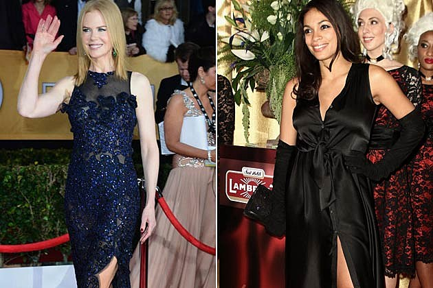Nicole Kidman Rosario Dawson Best Worst Dressed
