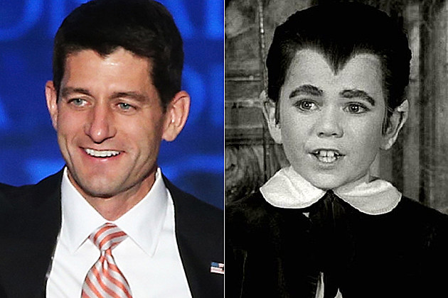 Paul Ryan and Eddie Munster