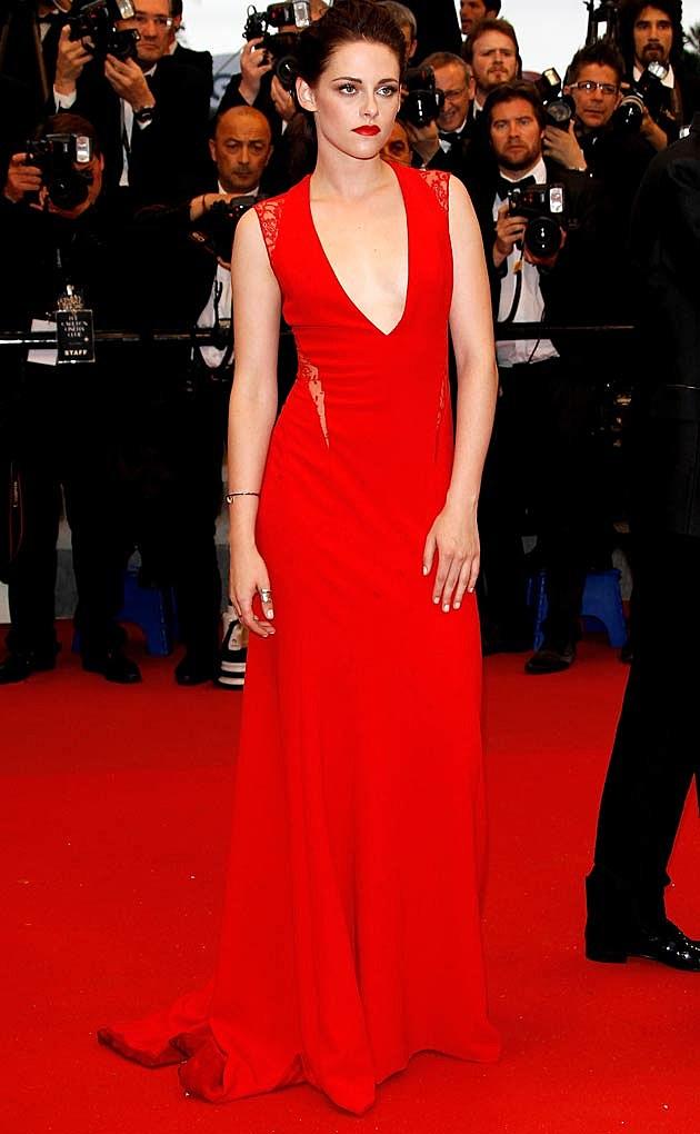 Kristen Stewart Red Reem Acra Cosmopolis