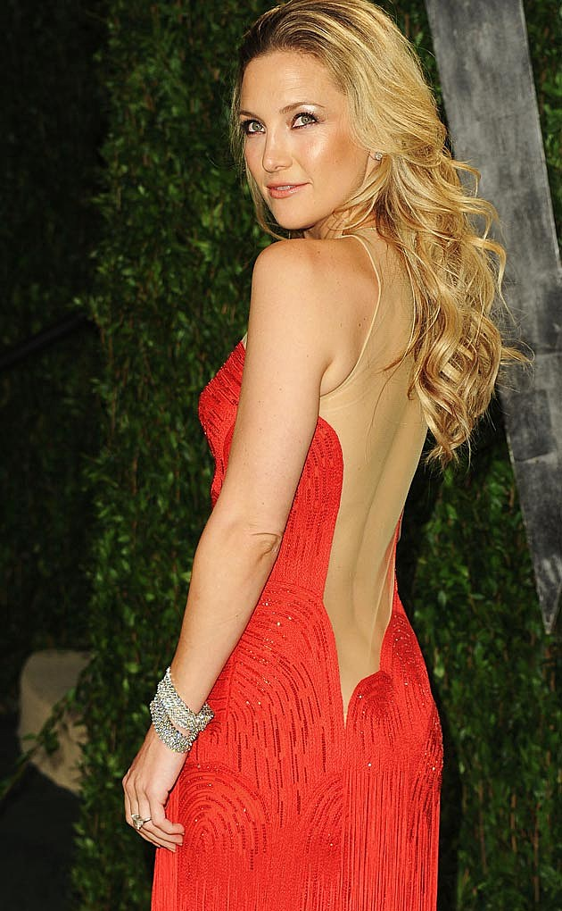 Kate Hudson Red Versace