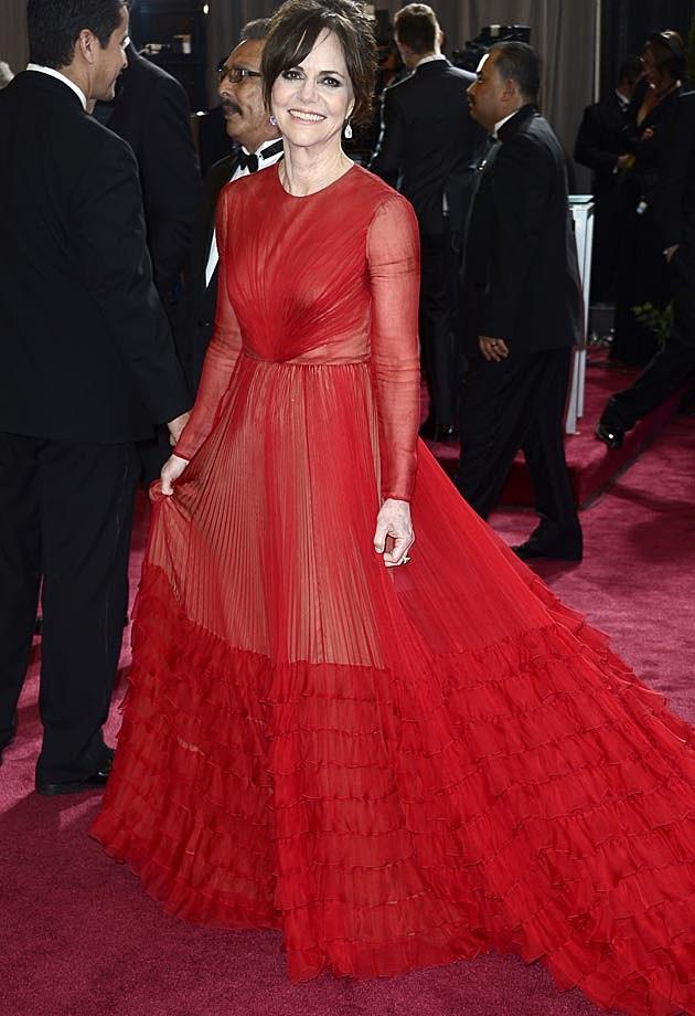 Sally Field 2013 Oscars Valentino