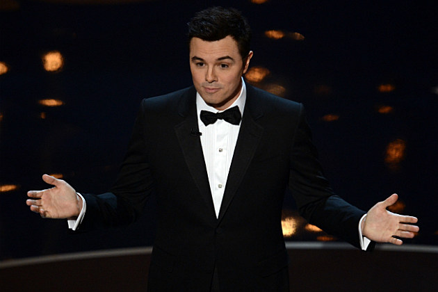 Seth MacFarlane was one of the best things about the Oscars.