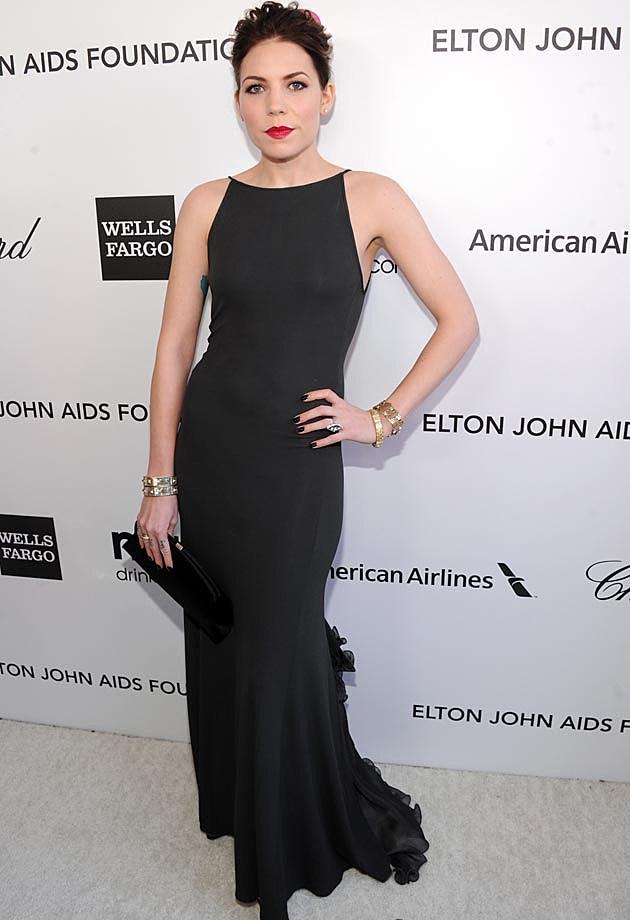 Skylar Grey Armani 2013 Elton John Oscars