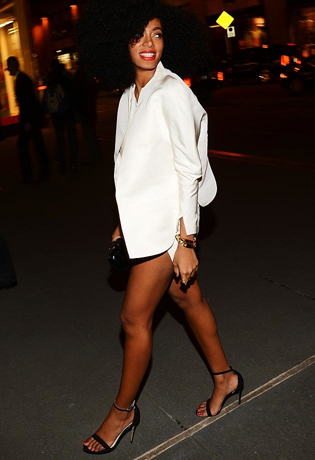 Solange Life Is But a Dream Premiere White Shirt
