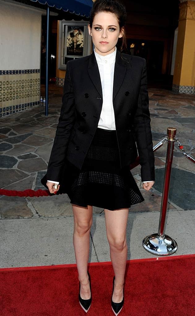 Kristen Stewart Black Suit
