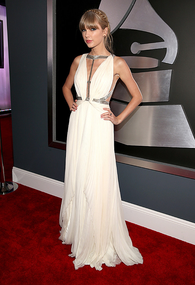 Taylor Swift at the 2013 Grammys