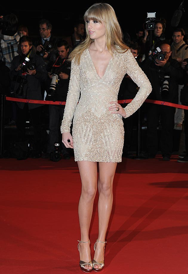 Taylor Swift Elie Saab NRJ Awards