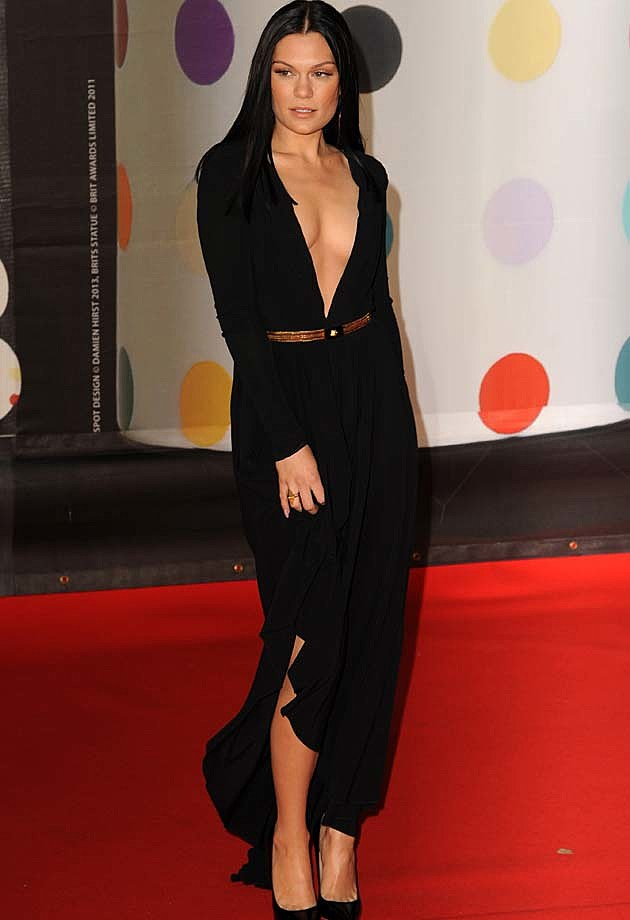 Jessie J Black Vesace 2013 BRITs