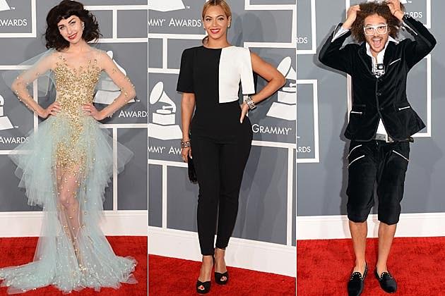 Worst Dressed Grammys 2013