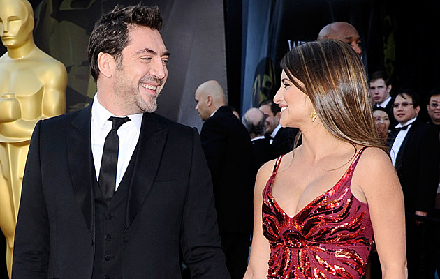 Javier Bardem and Penelope Cruz at the 83rd Annual Academy Awards