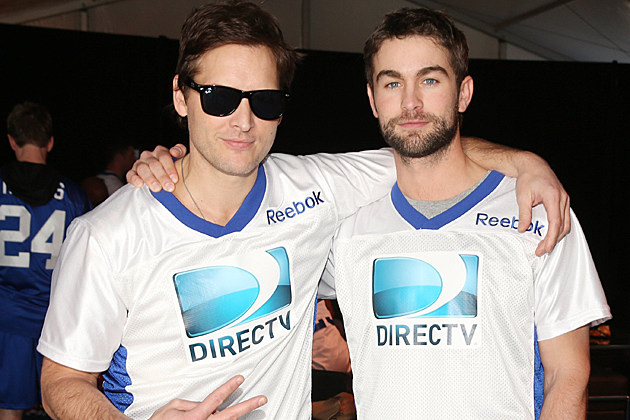 Peter Facinelli, Chace Crawford