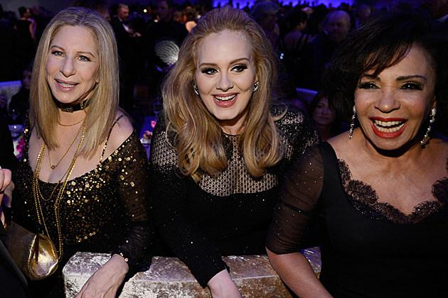 Barbra Streisand Adele Shirley Bassey