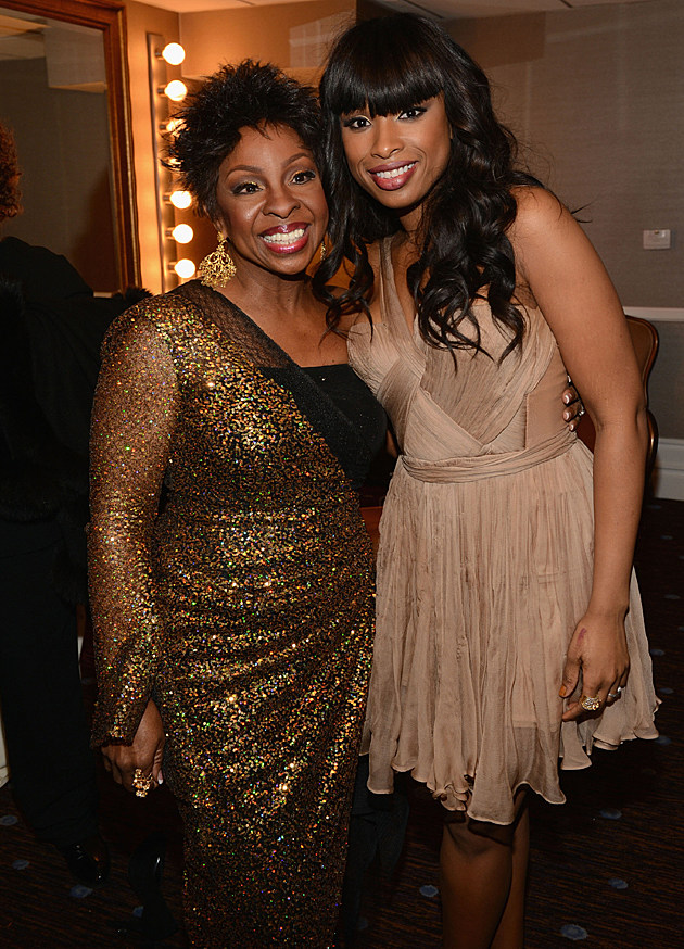 Gladys Knight and Jennifer Hudson at the Pre-GRAMMY Gala and Salute to Industry Icons