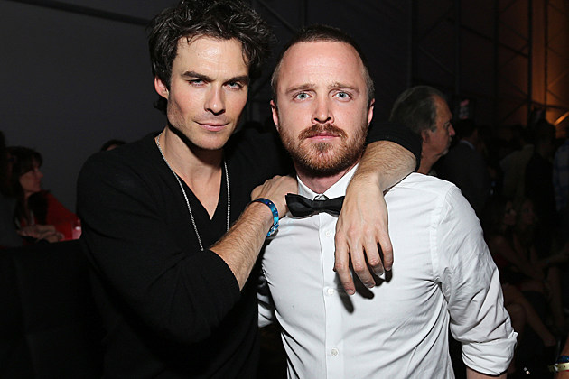 Ian Somerhalder, Aaron Paul