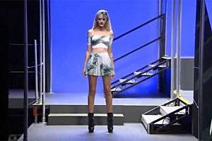 Rihanna's River Island Fashion Show