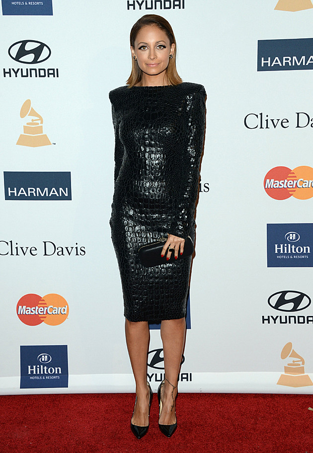 Nicole Richie at the Clive Davis Pre-GRAMMY Party
